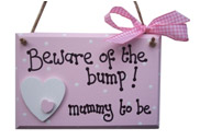 Beware of the Bump plaque